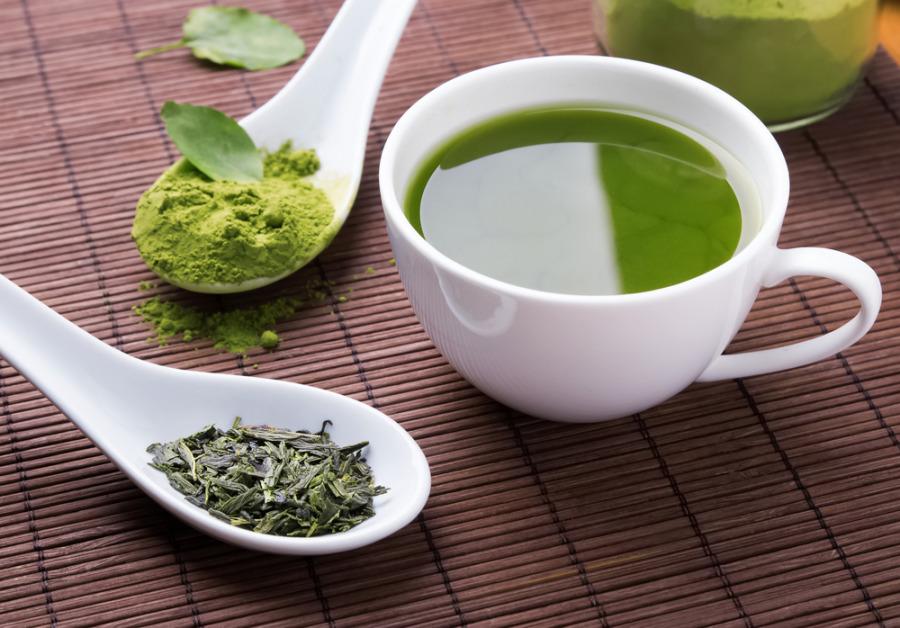 减肚腩脂肪方法 - 喝绿茶
