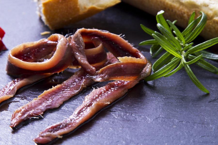 减肚腩脂肪方法 - 鯷鱼 Anchovies