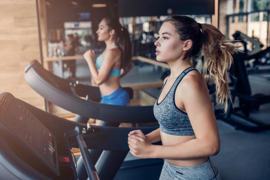 减肥健身迷思 - 在跑步机上跑步
