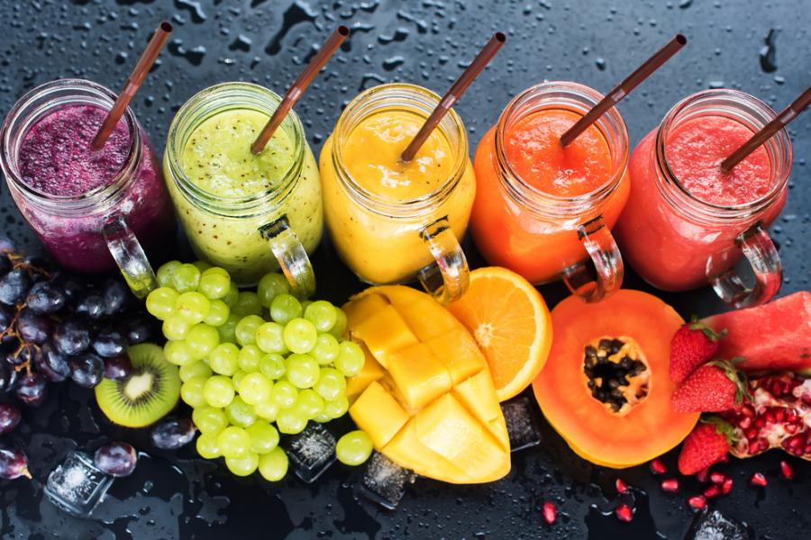 自製果蔬汁-果糖含量高