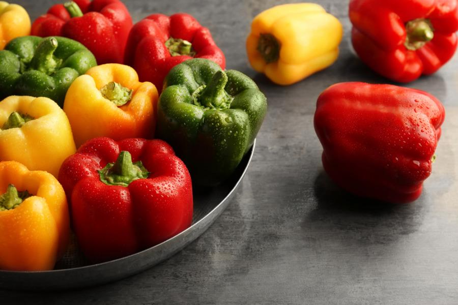 胶原蛋白食物 - 甜椒