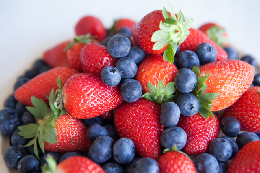 膠原蛋白食物 - 莓果