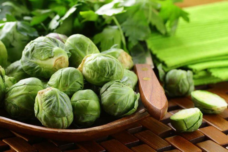 减肥食物-绿叶蔬菜-抱子甘蓝