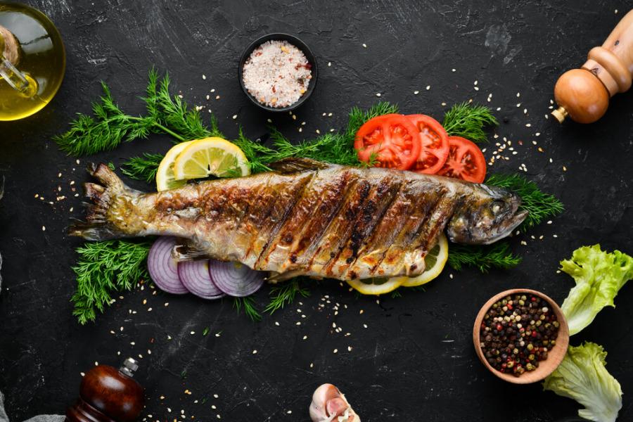 低碳食物-鱒魚
