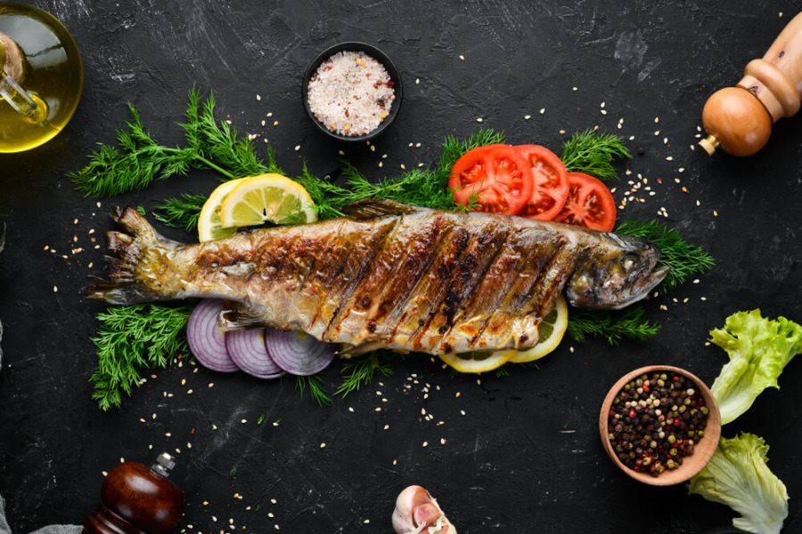 低碳食物-鳟鱼