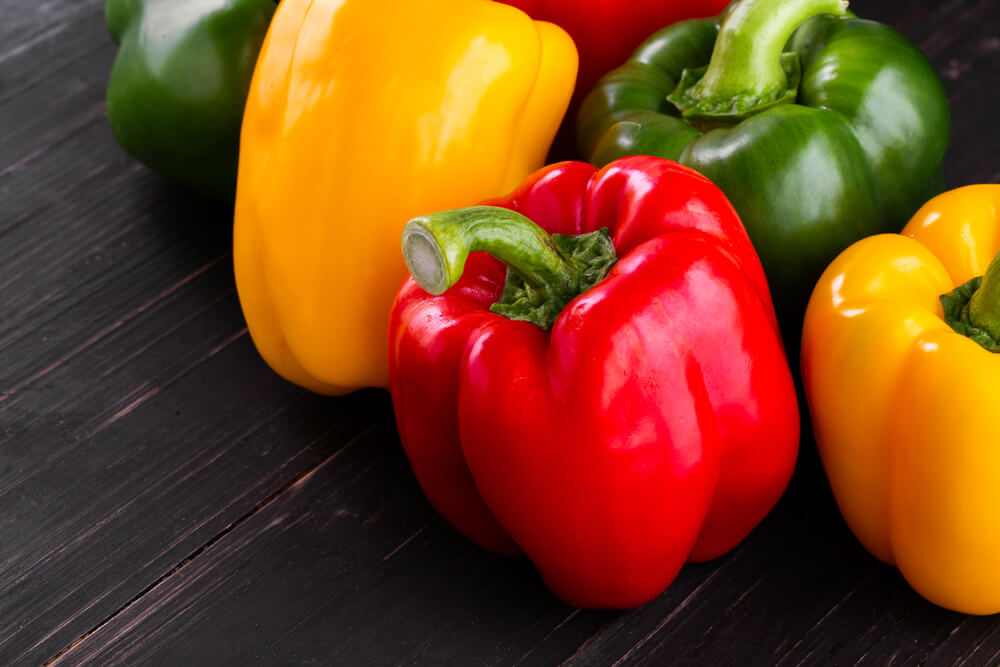 低碳饮食-低碳水化合物食物-甜椒