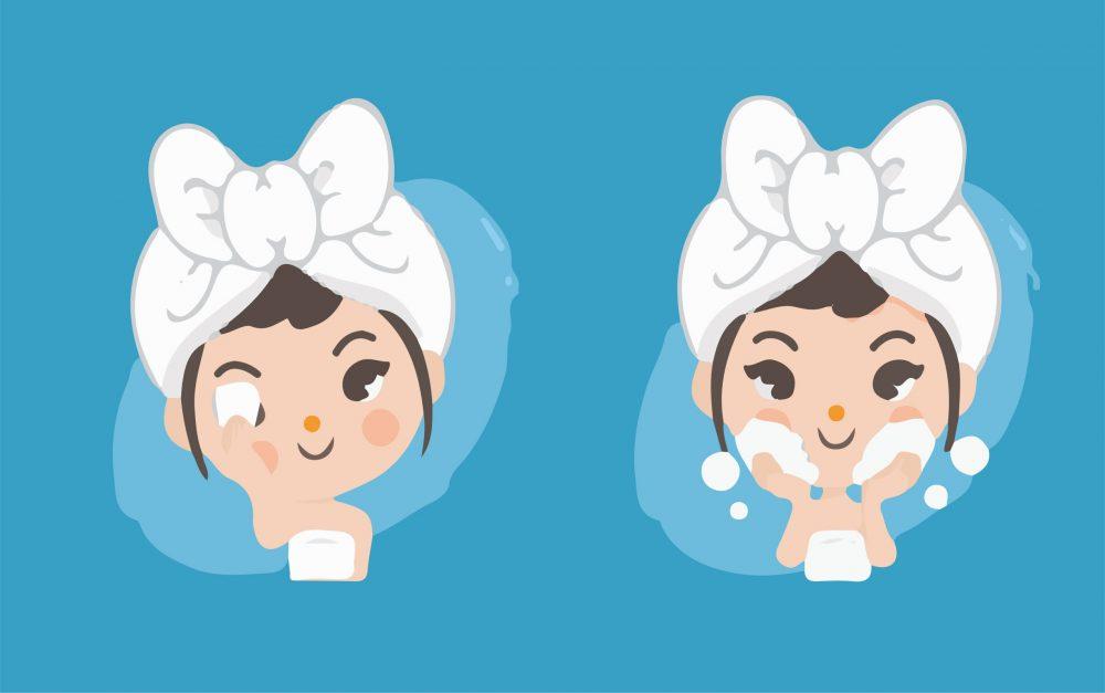 收细毛孔方法-卸妆