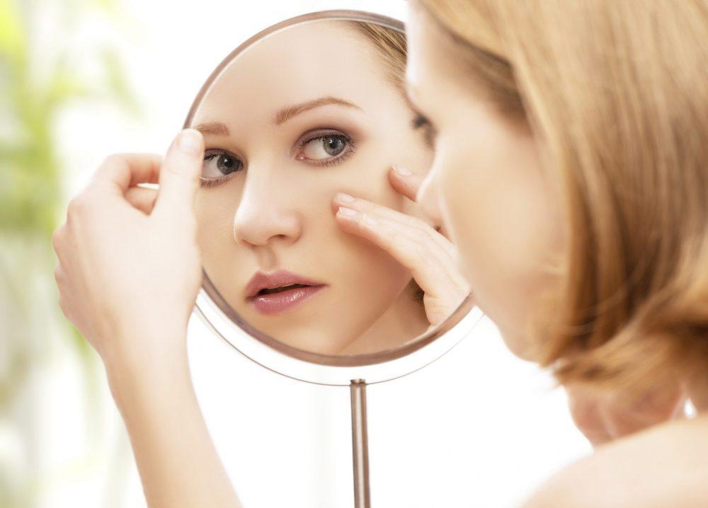 有效去黑眼圈方法-眼部附近的皮肤