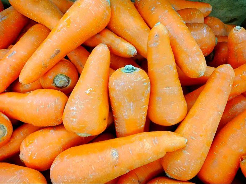 增髮食物-胡蘿蔔素-紅蘿蔔