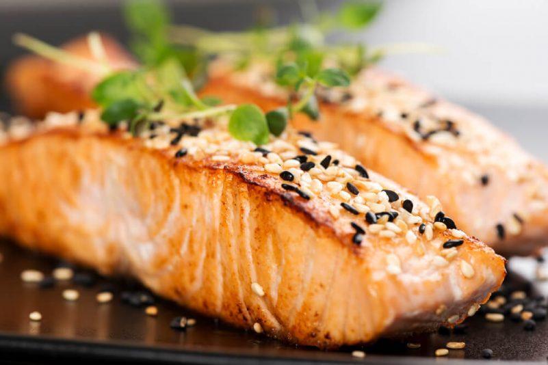 Atkins Diet减肥法-低碳水化合物-三文鱼