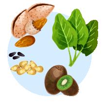 从不同食物中吸收有用的维他命能有助预防雀斑-3