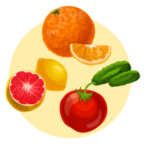 从不同食物中吸收有用的维他命能有助预防雀斑