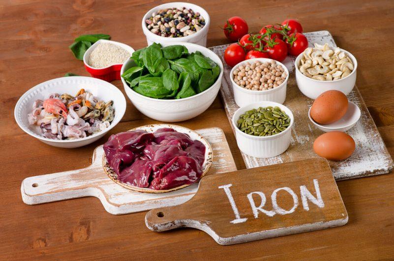 女性脱发-生发食物-铁质