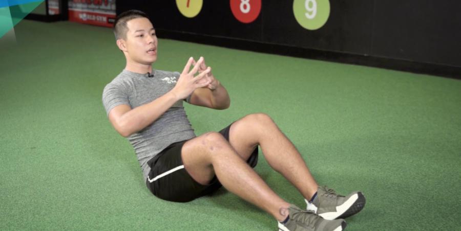 简单瘦腰运动-Ab Workout-俄罗斯转体-Russian Twists
