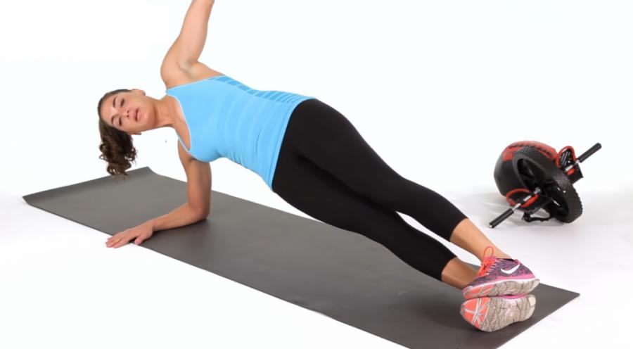 简单瘦腰运动-Ab Workout-侧板支撑-Side Plank