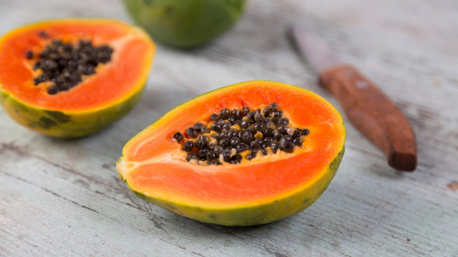 必吃的瘦腿食物-木瓜