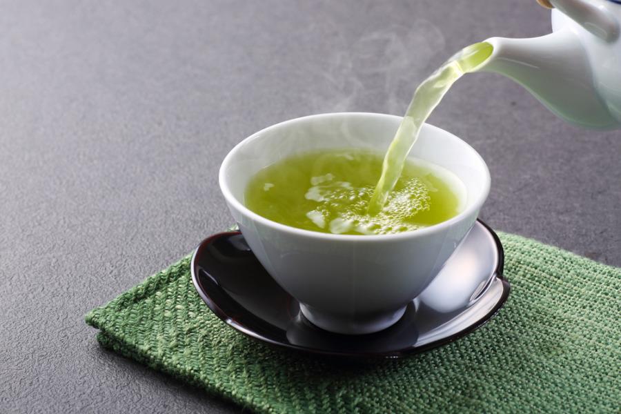 老人斑-綠茶
