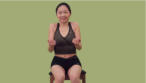 頸椎痛運動