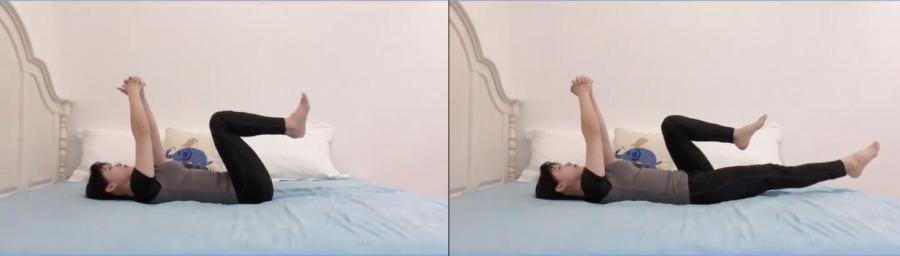 盆底肌修復操1. 閉合腹直肌