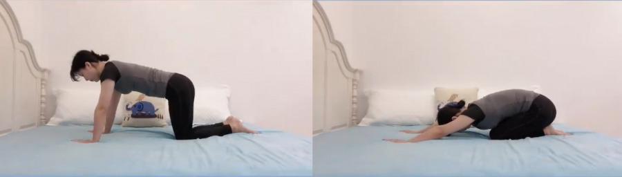 盆底肌修復操6. 舒緩腰痛